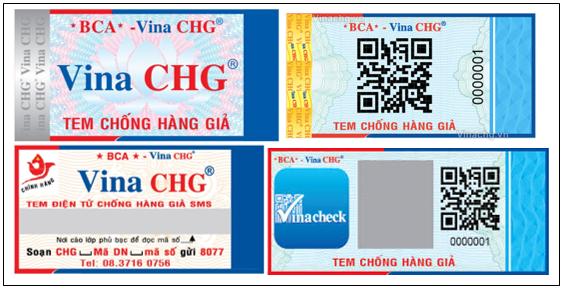 mẫu tem chống giả, Vina chg, sản xuất hàng giả bị đi tù