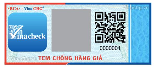 tem bảo hành điện tử, vina chg