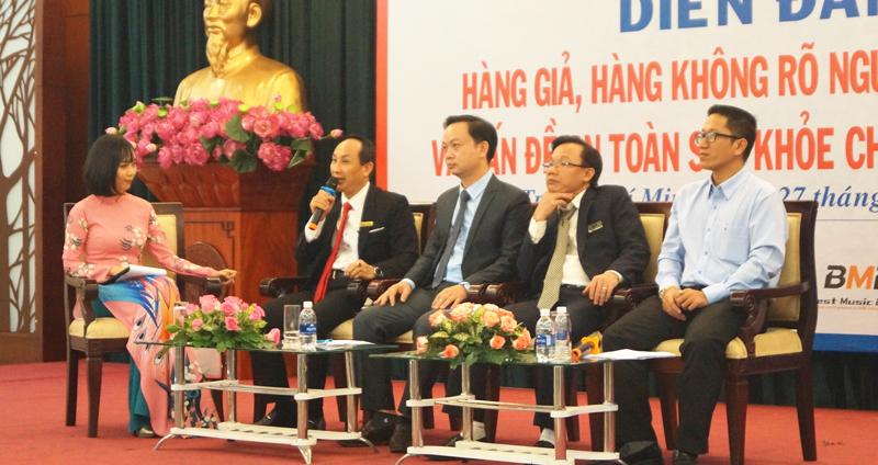 Ông Nguyễn Viết Hồng, Tổng giám đốc Vina CHG chia sẻ về việc chống hàng giả trong thời đại công nghệ số.