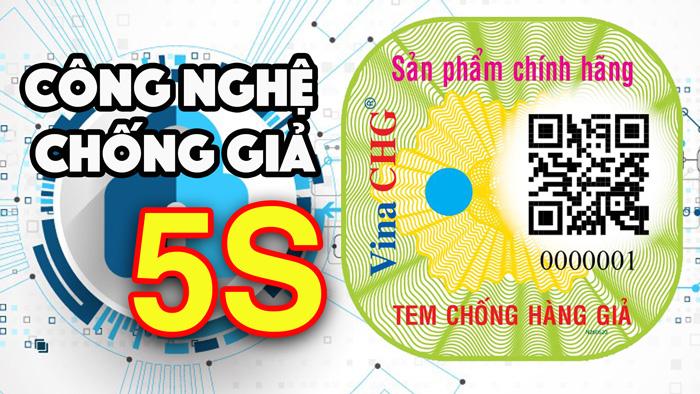 Vina CHG ra mắt công nghệ chống giả 5S, tăng cường bảo mật cho tem chống giả 1