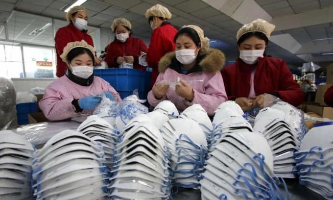 Loạt công ty khẩu trang Trung Quốc đóng cửa vì kém chất lượng 2