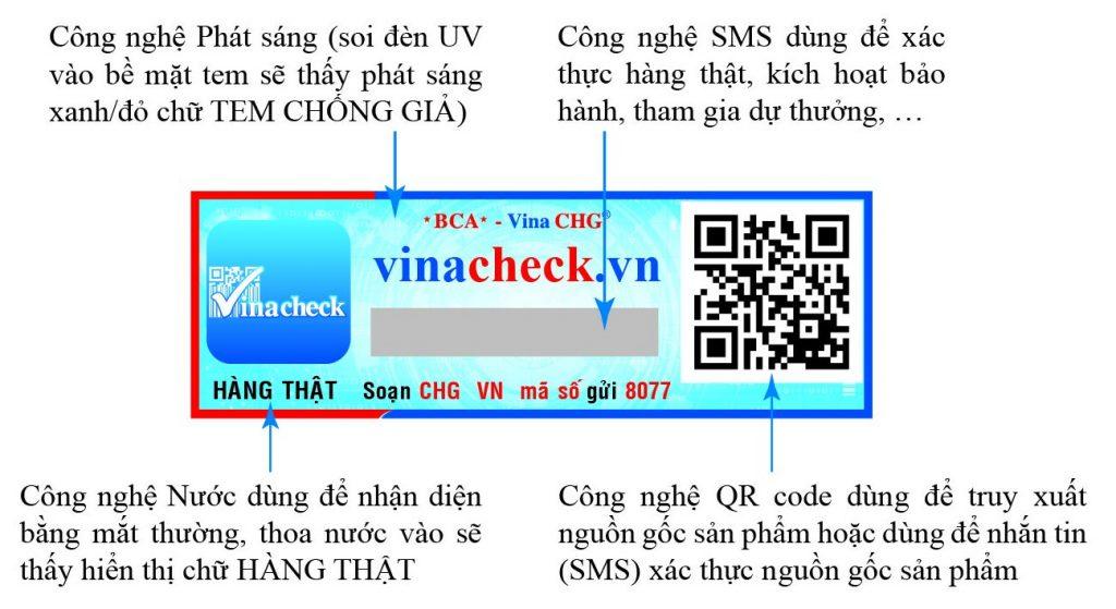 Tem chống giả bánh trung thu, tem chống hàng giả, vina chg, tem sms 4.0