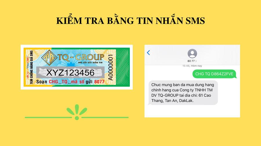 Hướng dẫn cách phân biệt hàng chính hãng sản phẩm Kem Body Chanh Lemon bằng tem chống hàng giả