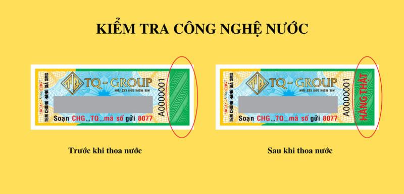 Hướng dẫn cách phân biệt hàng chính hãng sản phẩm Kem Body Chanh Lemon bằng tem chống hàng giả 2