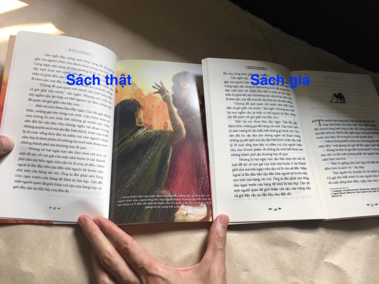 Cách phân biệt sách thật giả, sách giả, phân biệt sách giả, tem chống giả sách,