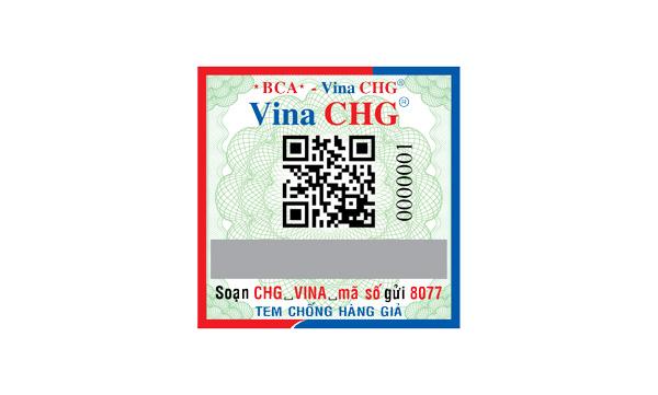 tem chống hàng giả cho mỹ phẩm hữu cơ