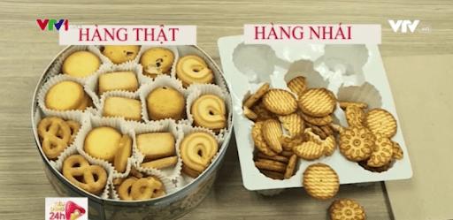 Cách biệt bánh kẹo thật giả nhanh chóng, chính xác