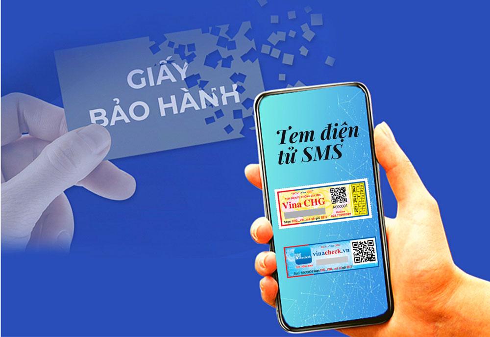 tem điện tử sms, tem điện tử, tem sms, tem kỹ thuạt số